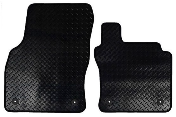 Jaguar S Type Interior Rubber Mats (post 2002)